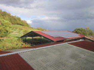L'impianto solare da 20Kw