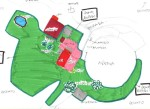 """La mappa della """"zona bipedi"""" di Rancho Comancho"""