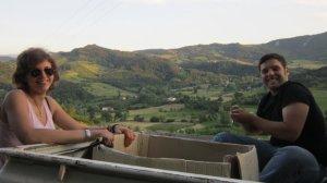 Sacha e Riccardo in pausa: i recinti sono finiti