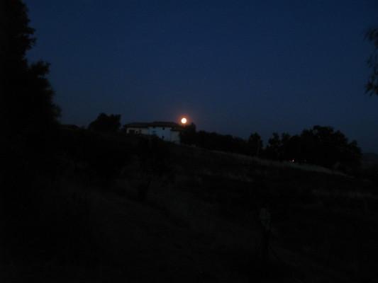 Comanche Moon su Rancho Comancho, al rientro da un trekking